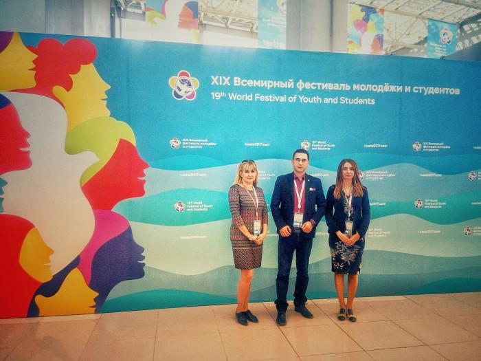 """Делегация на Национално Сдружение """"Младежки Глас"""" се завърна от участие в най-големия международен форум за младежи в Русия"""