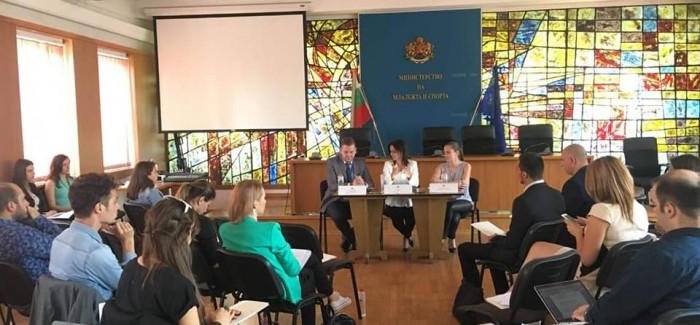 """НС """"Младежки Глас"""" присъств на Обществения съвет по въпросите на младежта към ММС"""