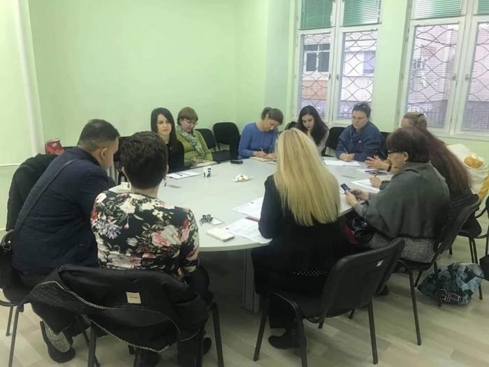 Работна среща в Стара Загора