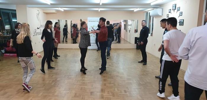 Безплатен урок по спортни танци в Бургас на 28.11