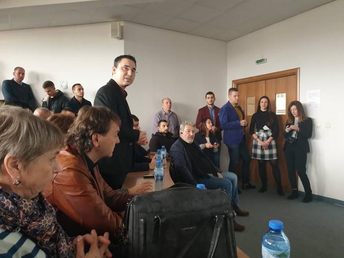 Официална среща на Министерството на Младежта и Спорта с младите в Бургас